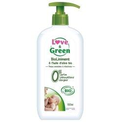 Love & Green BioLiniment à l\'Huile d\'Olive Bio 500ml