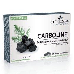 Les 3 Chênes Carboline 30 comprimés
