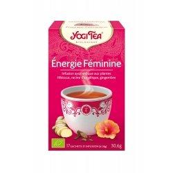 Yogi Tea Energie Féminine 17 sachets