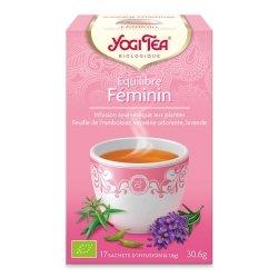 Yogi Tea Equilibre Féminin 17 sachets