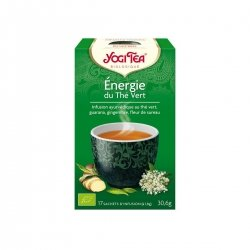 Yogi Tea Energie Thé Vert 17 sachets