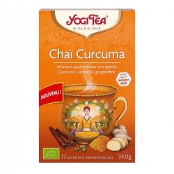 Yogi Tea Chaï Curcuma 17 sachet