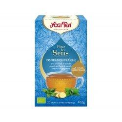 Yogi Tea Pour Les Sens Inspiration Fraîche 20 sachets
