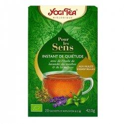 Yogi Tea Pour Les Sens Instant de Quiétude 20 sachets