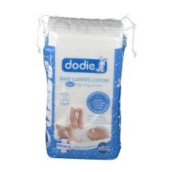 Dodie Carrés Coton 60 unités