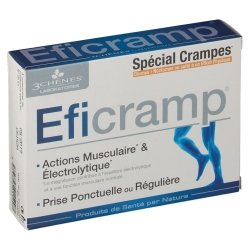 Les 3 Chênes Eficramp 30 comprimés