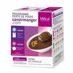 Milical Programme Perte de Poids Crème au Chocolat 4 sachets