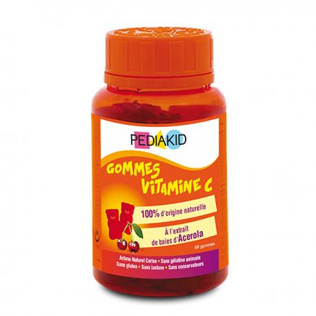 Pediakid Gommes Vitamine C 60 gommes