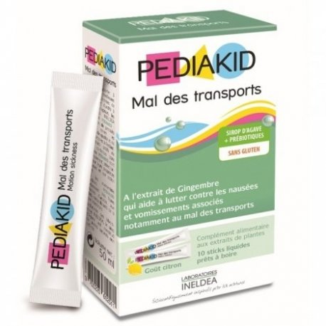 Pediakid Mal des Transports 10 sticks