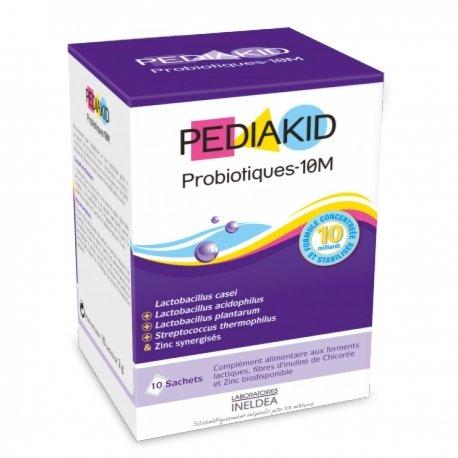 Pediakid Probiotiques 10M Digestion 10 sachets
