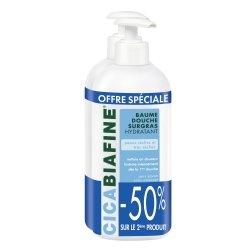 Cicabiafine Baume Douche Surgras Offre Spéciale 2 x 400ml