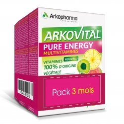 Arkopharma Arkovital Pure Energy 3 mois 3 x 30 comprimés