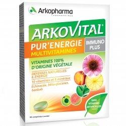 Arkopharma Arkovital Pure Energy Immunoplus 30 comprimés