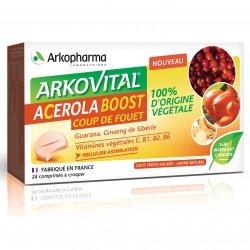 Arkopharma Arkovital Acerola Boost 24 comprimés à croquer