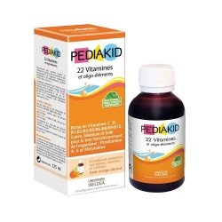 Pediakid 22 vitalubes & oligo elements fl 125ml
