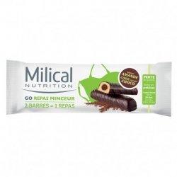 Milical Nutrition Go Repas Minceur 2 Barres Amande Choco
