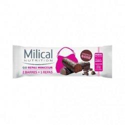 Milical Nutrition Go Repas Minceur 2 Barres Chocolat Noir
