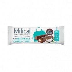 Milical Nutrition Go Repas Minceur 2 Barres Chocolat Coeur Coco