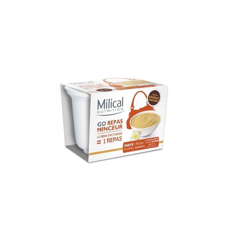 Milical Nutrition Go Repas Minceur Crème Onctueuse Vanille