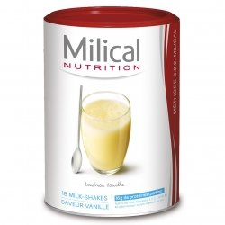 Milical Nutrition Milk-Shakes Saveur Vanille 18 Portions