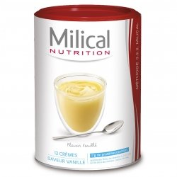 Milical Nutrition Crème Minceur Saveur Vanille 12 Portions