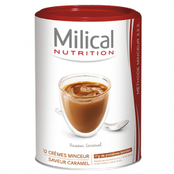 Milical Nutrition Crème Minceur Saveur Caramel 12 Portions