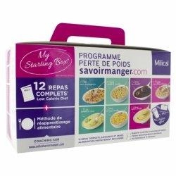 Milical Programme Perte de Poids My Starting Box 12 Repas Complets