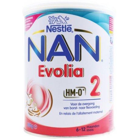 NAN Optipro 2 Evolia Lait de Suite 800g