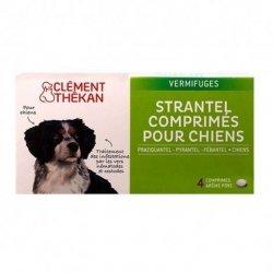 Clément Thékan Strantel Vermifuges Chien 4 comprimés