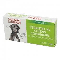 Clément Thékan Strantel XL Vermifuges Chien 2 comprimés