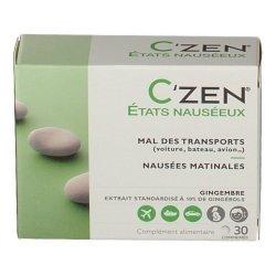 C\'Zen Etats Nauséeux 30 comprimés