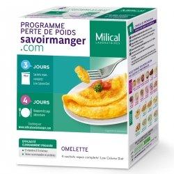 Milical Programme Perte de Poids Omelette 4 sachets
