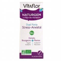 Vitaflor Naturgem Dual Force Stress-Anxiété Bio 60ml
