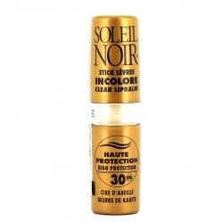 Soleil Noir Stick Lèvres Incolore SPF30 4g