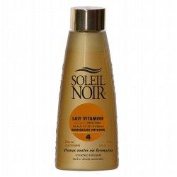 Soleil Noir Lait Vitaminé Bronzage Intense 4 150ml