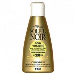 Soleil Noir Soin Vitaminé SPF20 50ml