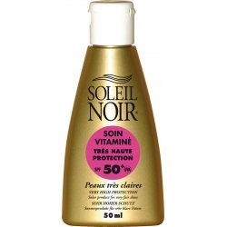 Soleil Noir Soin Vitaminé SPF50+ 50ml
