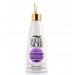 Soleil Noir Lait Fluide Vitaminé SPF30 Spray 150ml