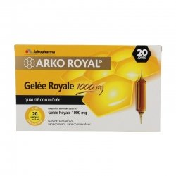 Arkoroyal Gelée ruche royale 1000mg 20 x 15ml