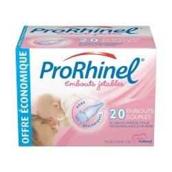 ProRhinel Embouts Jetables Souples pour Mouche Bébé 20 unités