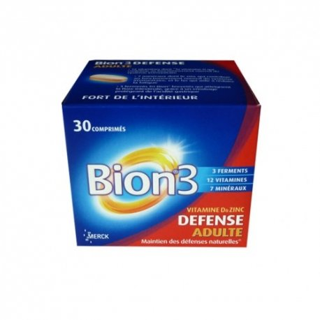 Bion 3 Defense Adulte 30 Comprimes