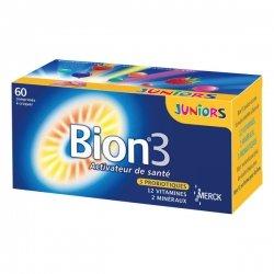 Bion 3 Juniors Saveur Framboise 60 comprimés à croquer