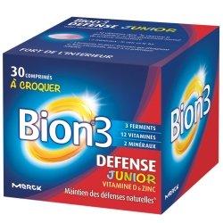 Bion 3 Défense Junior 30 comprimés à croquer