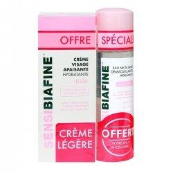 Sensibiafine Crème Visage Apaisante Légère 50ml + Eau Micellaire 125ml OFFERTE