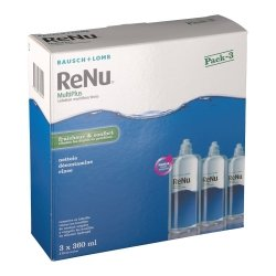 Bausch & Lomb ReNu MultiPlus Solution Multifonctions 3 x 360ml