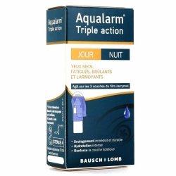 Bausch + Lomb Aqualarm Triple Action Jour Nuit Yeux Secs 10ml