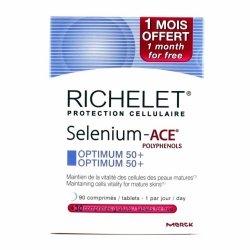 Richelet Selenium-ACE Optimum 50+ 90 comprimés + 30 comprimés OFFERTS