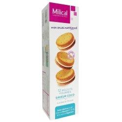 Milical 12 Biscuits Fourrés Saveur Coco