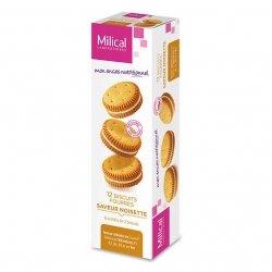 Milical 12 Biscuits Fourrés Saveur Noisette