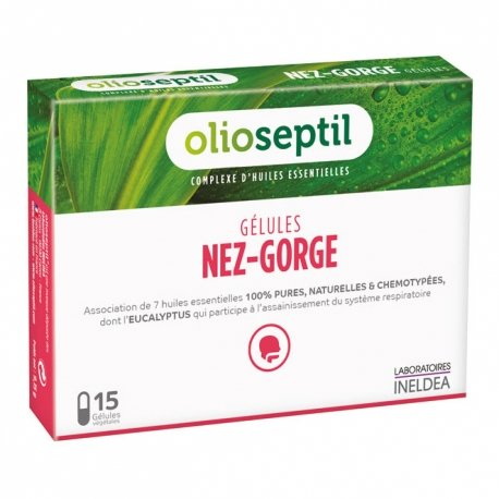 Olioseptil Nez-Gorge 15 gélules